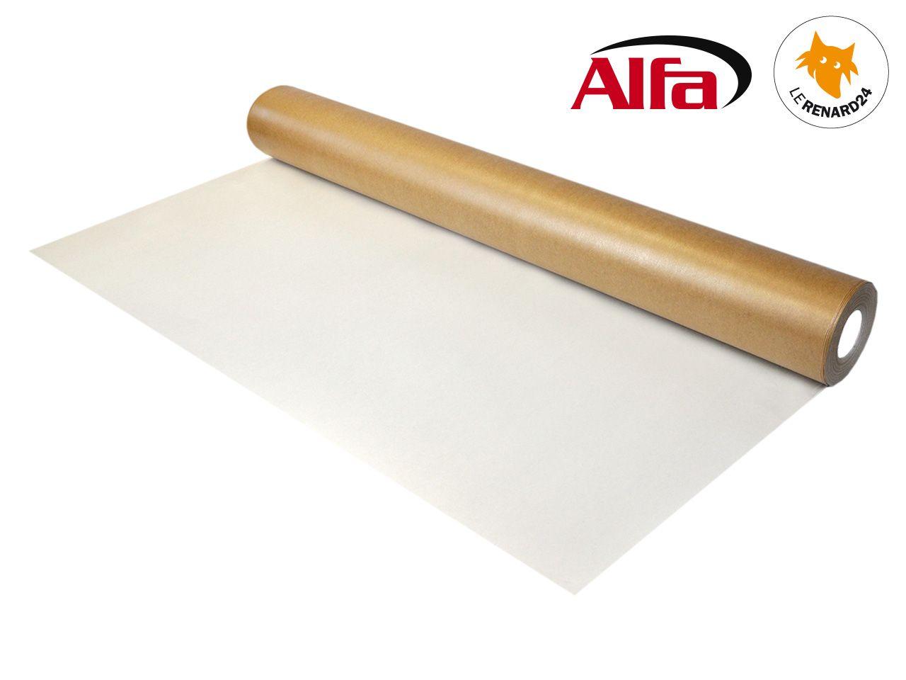 Rouleau «Carton Tetra» pour protection temporaire sol 8 g/m² - ALFA 8