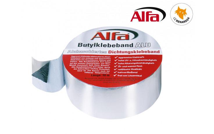 121 ALFA - Bande d'étanchéité autocollante «AluButyl»