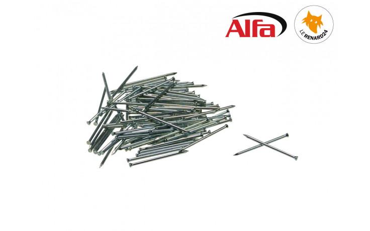 Clous galvanisé avec (pointes de fil de fer) à tête conique pour plinthes