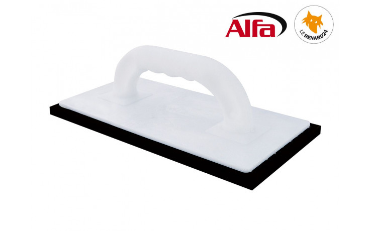 446 ALFA - Platoir à jointer caoutchouc cellulaire «noir»