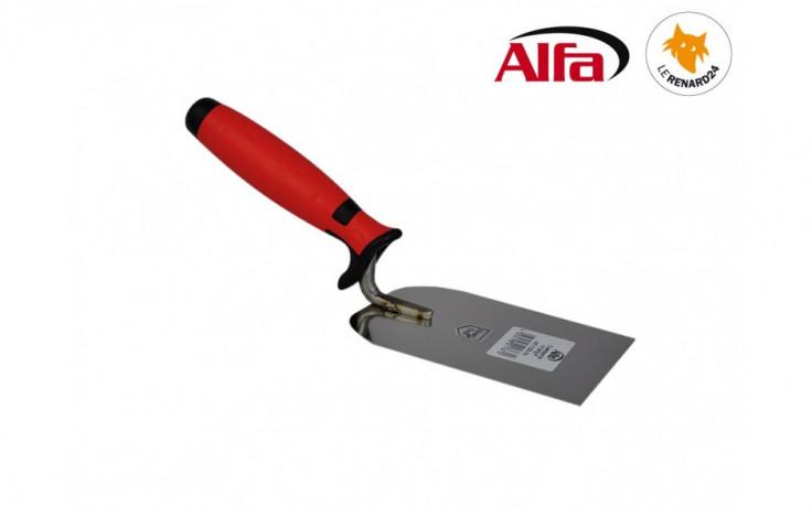 465 ALFA - Spatule stuccateur inox avec manche bi-matière