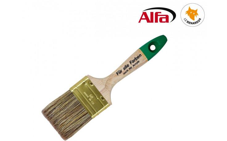 481 ALFA - LASURES - Brosse plate à laquer