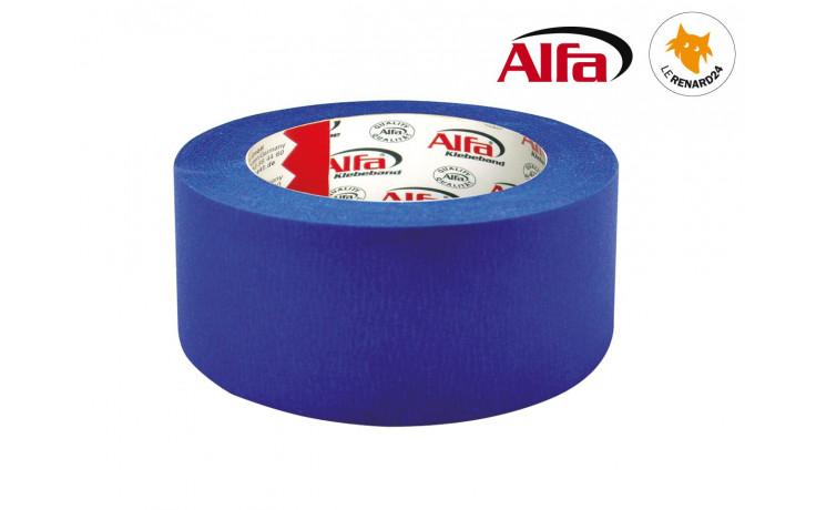 papier cr p blue tape pour peintres et travaux de peintures alfa 508. Black Bedroom Furniture Sets. Home Design Ideas
