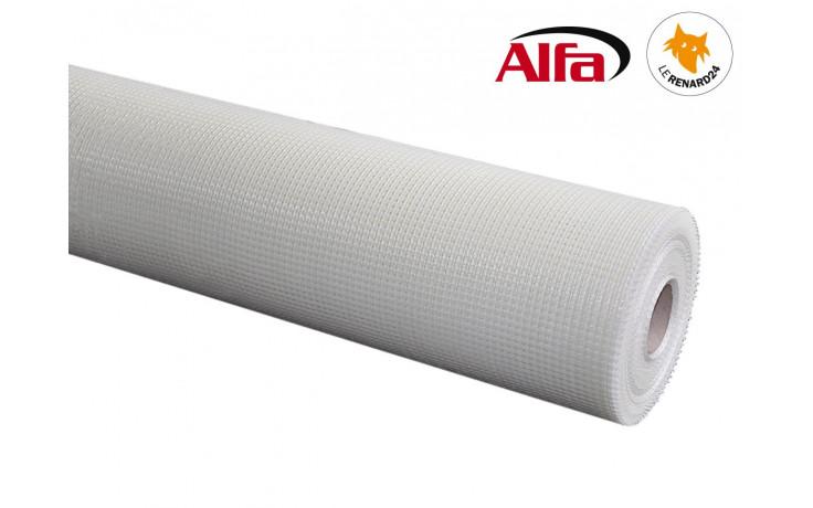 538 ALFA - Armature en treillis de verre pour la réalisation d'une isolation thermique professionnelle en laine de roche