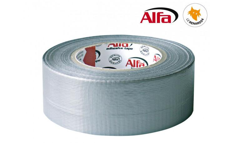 580 ALFA - Ruban adhésif «toile américaine» universelle - gris