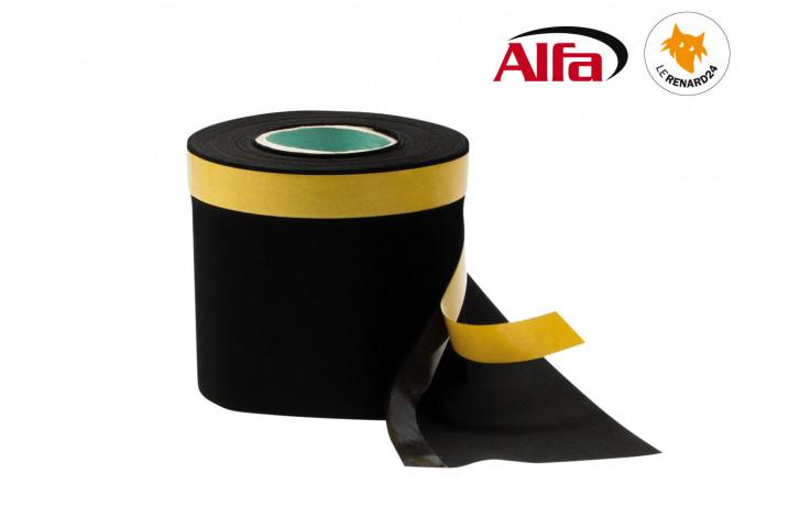 Film isolant simple en caoutchouc EPDM avec un ruban adhésif acrylique d'une épaisseur de 0,6 mm