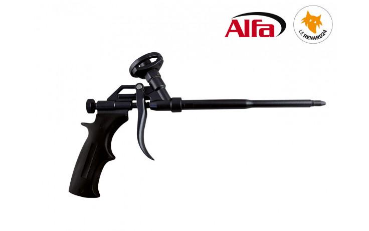 ALFA - Pistolet pour Mousse PU expansive «Premium Black»