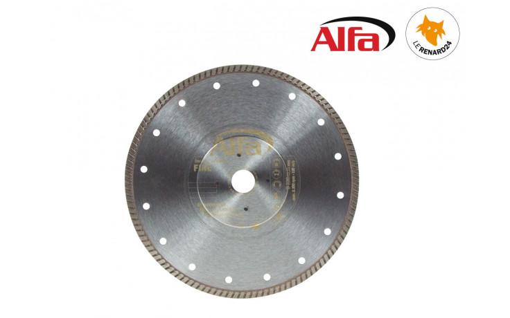 Disque diamant «Fine» avec une hauteur des segments de 7,5 mm - compense la chaleur