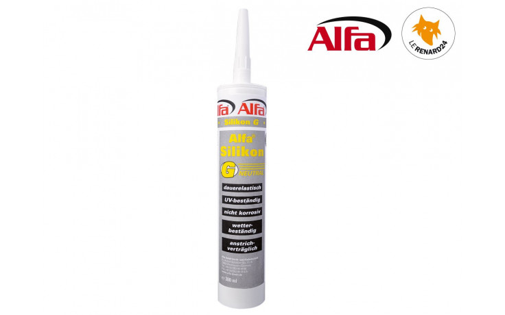 850 ALFA - Silicone «G» pour toits / charpentes - gris