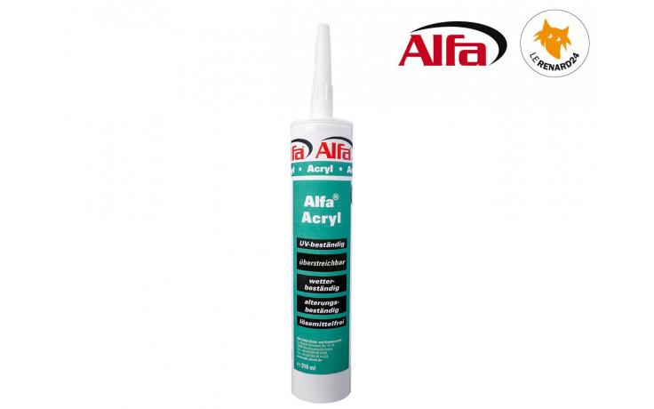 853 ALFA - Mastic acrylique blanc