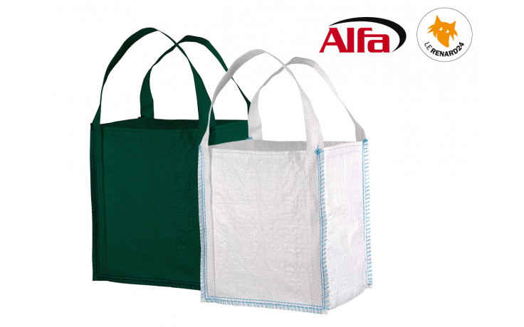 ALFA - BIG-BAG «MINI» blanc ou vert