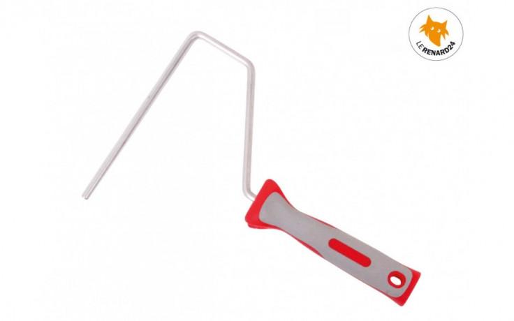 Manche ergonomique bi-composant pour rouleaux