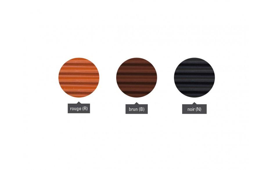 Closoir de faîtage souple «PRO» - couleurs
