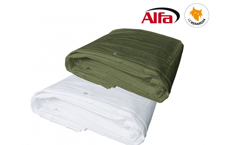 424 ALFA - Bâches de protection 150 g/m²