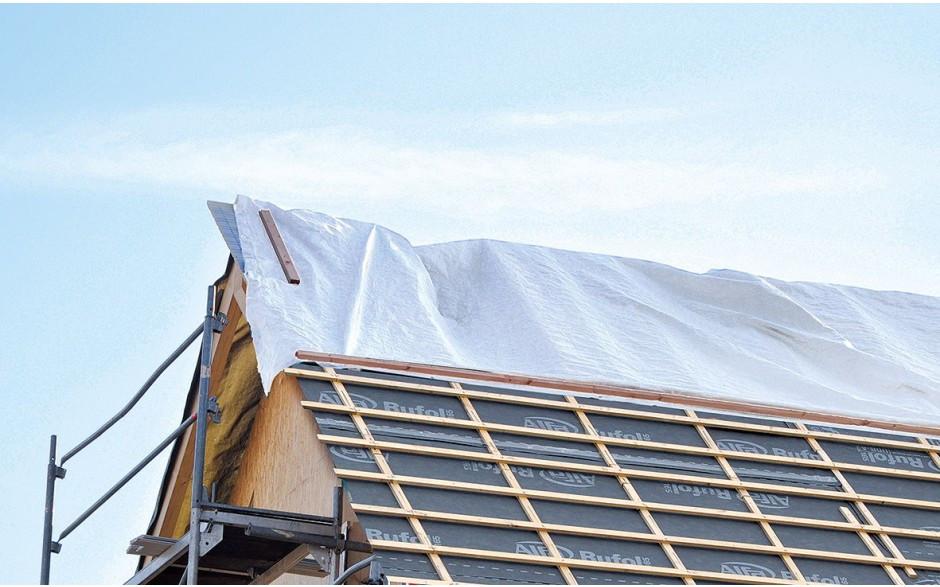 protection supplémentaire dans les domaines du toit