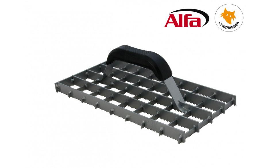 468 ALFA - Rabot grille dentée