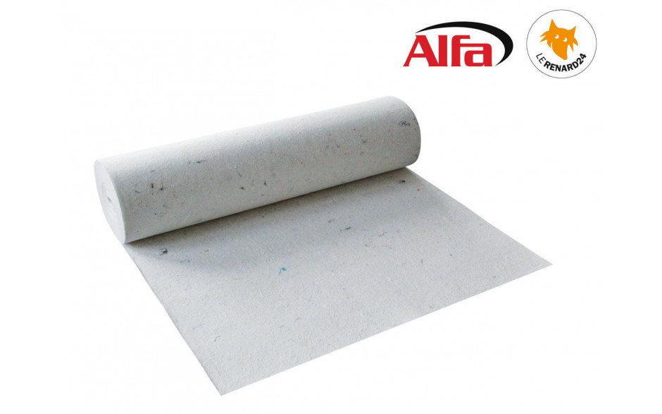 Toile de protection, absorbante, anti dérapante en 360 g/m²