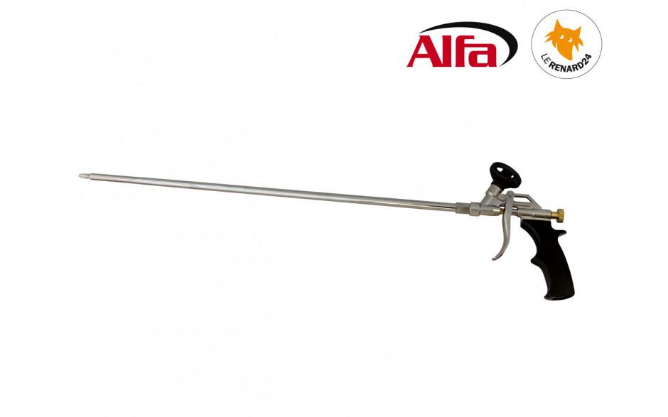 624 ALFA - Pistolet Mousse «FD» à canon métal de longueur 600 mm