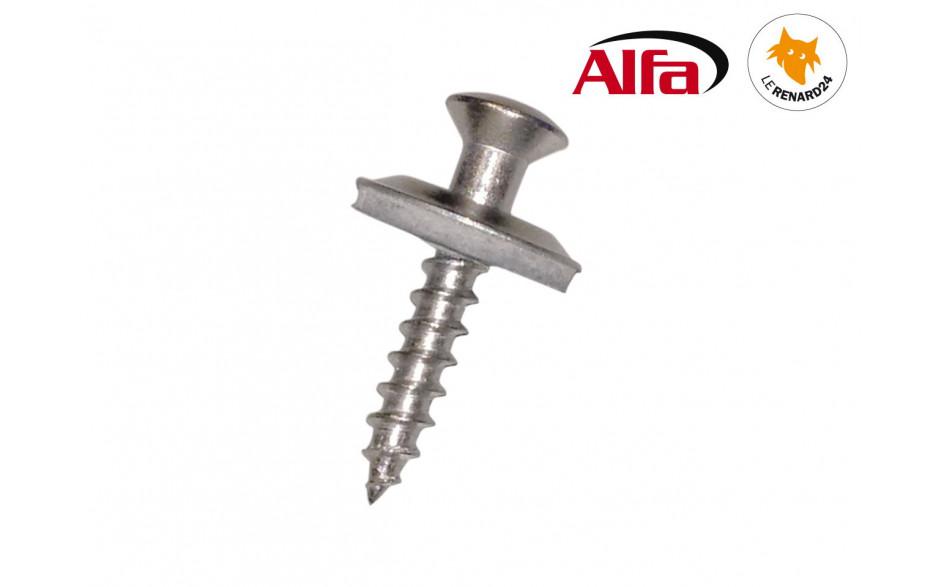 ALFA - Vis-Ferblantier / Plombier (V2A vis en acier inoxydable)