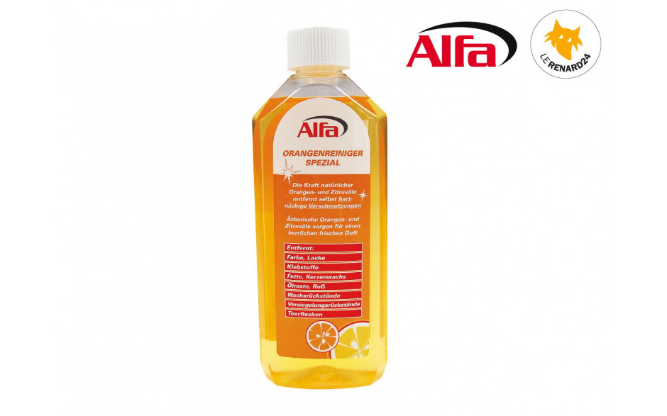 845 ALFA - Nettoyant orange spécial