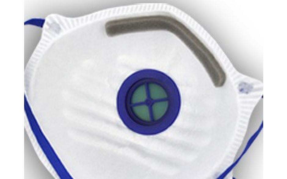 Masque poussières fines FFP2 (avec valve)