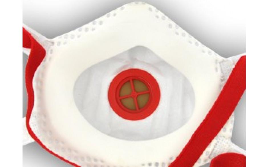 Masque poussières fines FFP3 (avec valve)