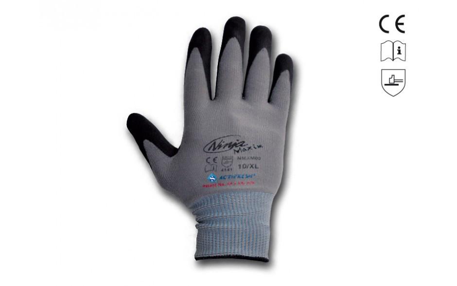 gants en tricot fin
