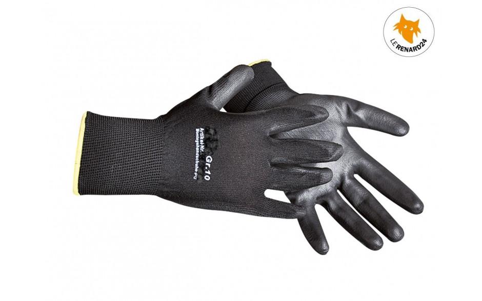 Gants de mécanicien - noir