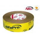 Adhesif d'étanchéité BBC pour membrane-jaune fixation extrême, papier spécial inprégné pour boucher hermétiquement les chevauchements et joints sur écrans.