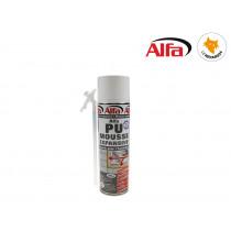 ALFA - Mousse PU expansive monocomposant 500ml manuelle
