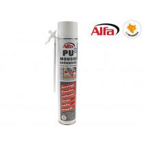ALFA - Mousse PU expansive monocomposant 750ml manuelle