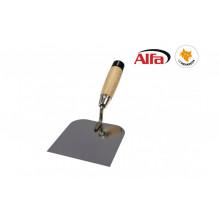 Spatule spéciale pour plaque au plâtre avec tourne vis d'intégré