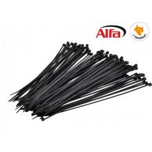 Attache câbles en Nylon, noir
